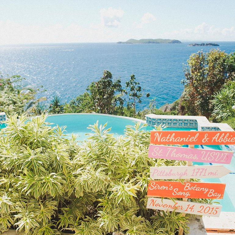 Wedding At Siren S Song Villa In St Thomas Virgin Islands