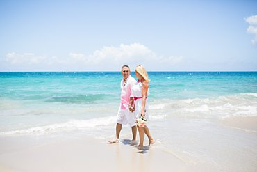 A surprise vow renewal at Limetree beach