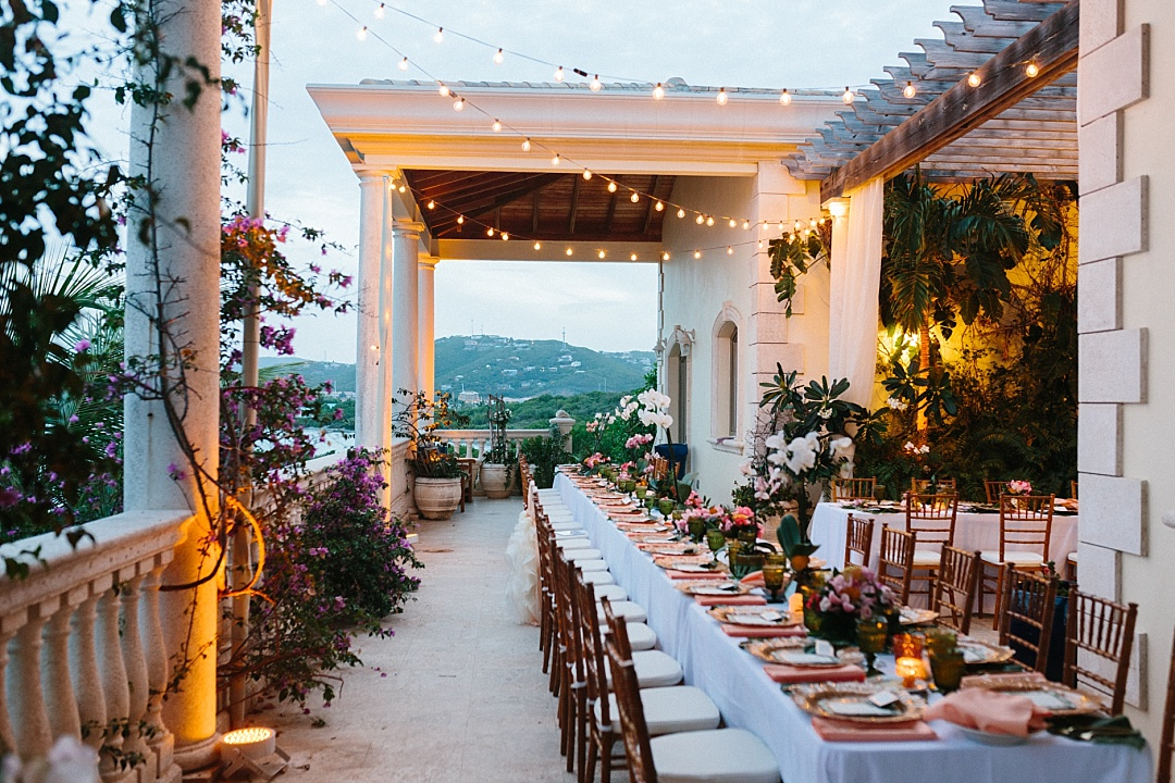 Villa Serenita wedding venues in St. Thomas